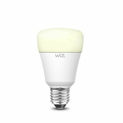 WiZ A60 E27 800lm Warm White Dimmable WiFi Smart Lamp(Pack of 2)-HONG KONG BRAND