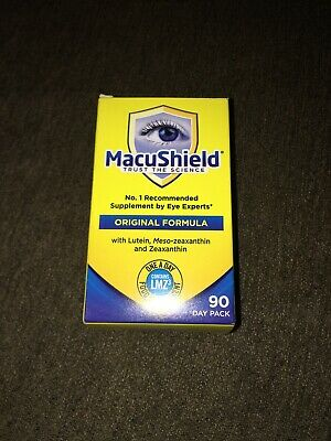Macushield Eye Supplement 90 Capsules 3 Months Supply Long Expiry Date 2020-2021
