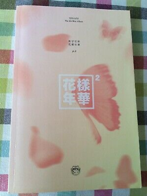 BTS The Most Beaufiful Moment In Life Part 2 HYYH Peach Version W/ Rare Group PC