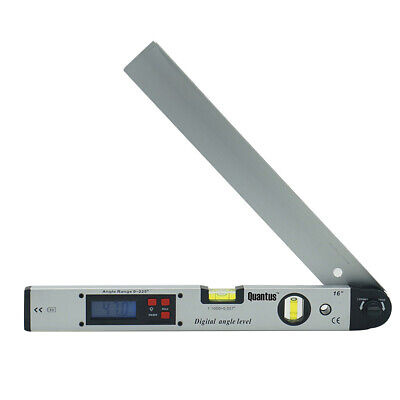 LCD Electronic Level Digital Angle Measuring Meter Folding Ruler 400MM Protracto