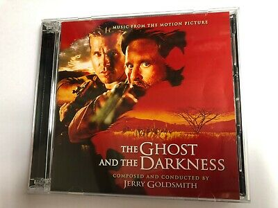 THE GHOST AND THE DARKNESS (Goldsmith) OOP Intrada Score OST Soundtrack 2CD NM