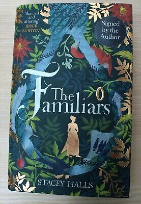 The Familiars by Stacey Halls Hardcover 2019 UK SIGNED 1st ed + TOTE & Bookmark