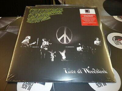 Creedence Clearwater Revival - Live At Woodstock Ltd 2Lp Mint/Sealed
