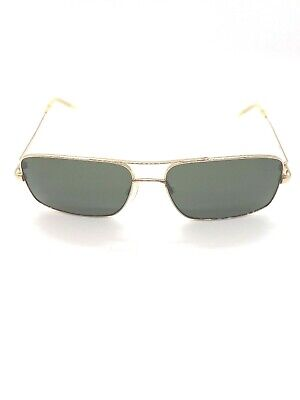Oliver Peoples Sunglasses Benedict 1002 5248//P1 Black Chrome Green G-15 VFX
