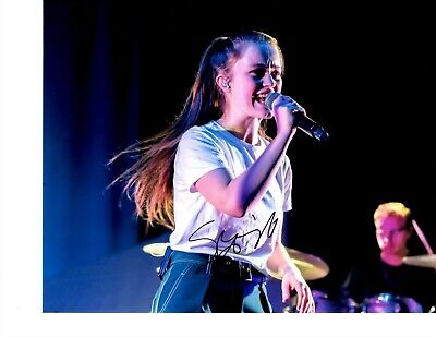 Sigrid Signed Rocking Out 8X10 Dont Kill My Vibe