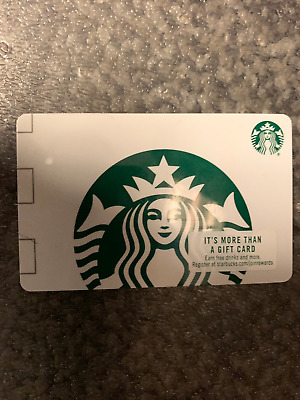 Starbucks Gift Card With Total Balance Of $50.00!!