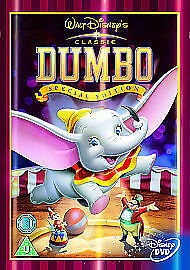 Dumbo in limited edition sleeve, walt disney dvd sealed brand new