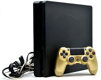 Sony PS4 Slim Console PlayStation 4 1TB Gaming Console CUH-2115B - Jet Black