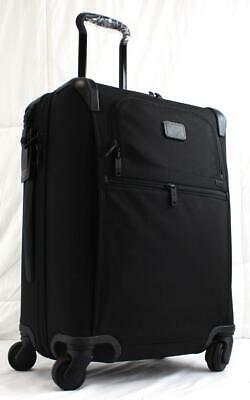 Tumi Alpha 2 Continental Expandable Spinner Carry On Suitcase 22061 Black