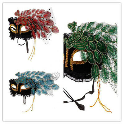 Vintage Venetian Mask for Costume Accessory Halloween Masquerade Carnival