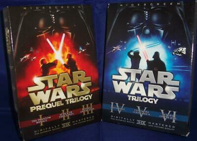 Star Wars Prequel & Original Trilogy W/Theatrical DVD Set (12-Discs REGION 1 US)