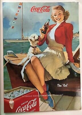 Coca Cola, Telstra, Limited Edition Phonecard, The Gal, 1995, vintage