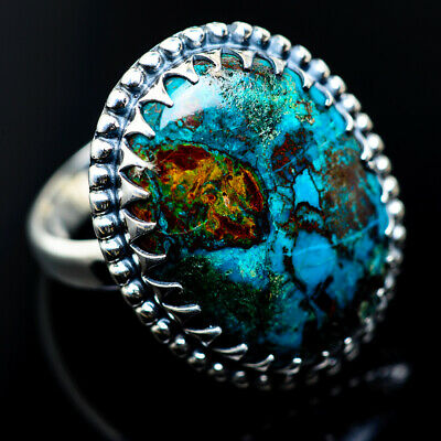 Large Shattuckite 925 Sterling Silver Ring Size 9 Ana Co Jewelry R962462F