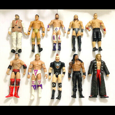 10x WWF WWE Sheamus John Cena Roman Reigns Wrestling Action Loose Figure Toys