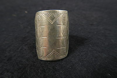 Alter getragener Ring Tuareg AR44 Old ring bague Touareg Afrozip