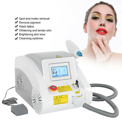 AC 220V 60HZ Q-Switched ND YAG LaserSkin Tattoo Removal Machine 1000W Kit EU