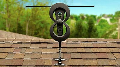 Antennas Direct - ClearStream 2MAX Indoor/Outdoor HDTV Antenna - Black
