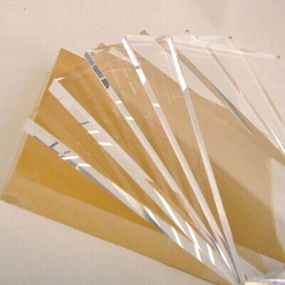 Clear Acrylic Perspex Sheet Custom Cut To Size Panels Plastic Panel All sizes