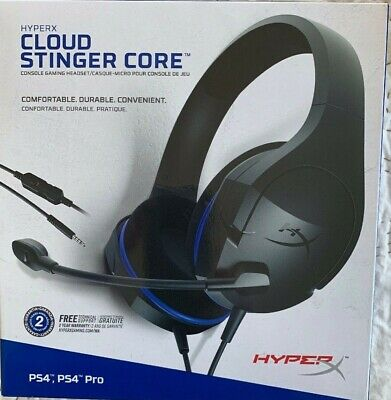 HyperX Cloud Stinger Core Corded Console Gaming Headset PS4 / Multi-Console