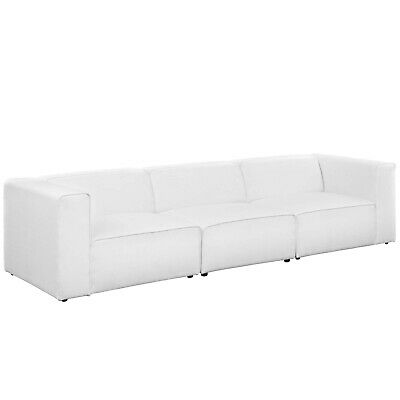 MODWAY MINGLE 7 Piece Upholstered Fabric Sectional Sofa Set ...
