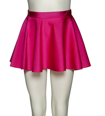 Girls Ladies Lycra Ballet Dance Circular Pull On Skirt By Katz Dancewear KDSK01