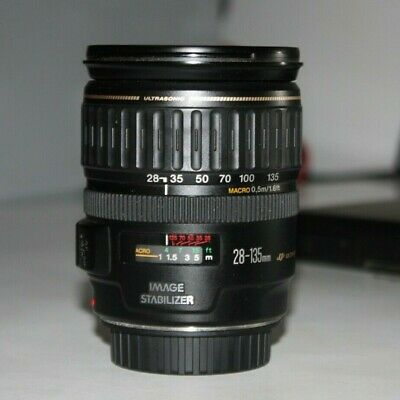 Canon 28-135mmf/3.5–5.6 IS USM with Lens Hood