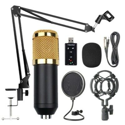 Kit de Microphone de Suspension Professionnel Bm800, Studio, Diffusion en D K4P6