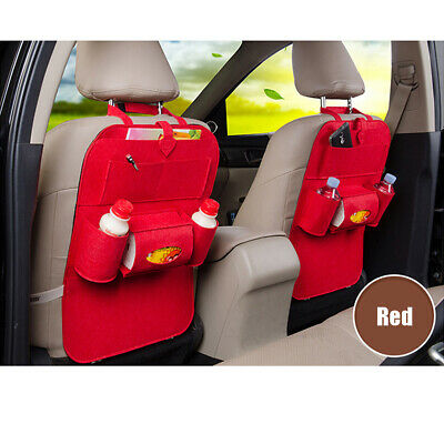 MECO Car Seat Back Protector Cover Children Baby Kick Mats Protect Storage Bag