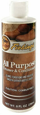 Fiebings All Purpose Cleaner & Conditioner 236ml Cleans & Protects Leather Shoes