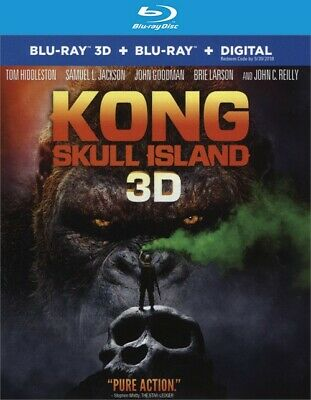 Kong: Skull Island (3D Blu-ray Disc ONLY, 2017)