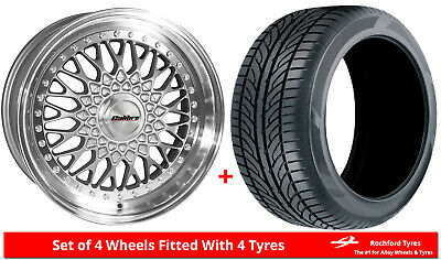 """Alloy Wheels & Tyres 16"""" Calibre Vintage For Ford Courier 91-06"""