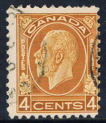 Canada #198(9) 1932 4 cent ochre KING GEORGE V Used CV$4.50