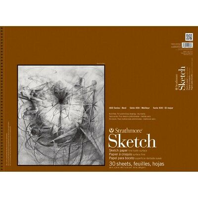 """Strathmore 400 Series Sketch Pads - 18x24"""", 30 Sheets  - 18X24"""", 30 Sheets"""