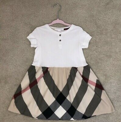 Burberry Authentic Toddler Nova Check Dress 2y 2T NWOT