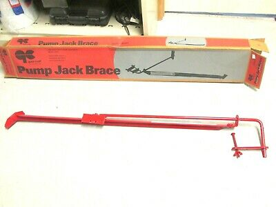 NIB .. Qual-Craft Pump Jack Brace Model # 2201 (Red) ..  WHS-203