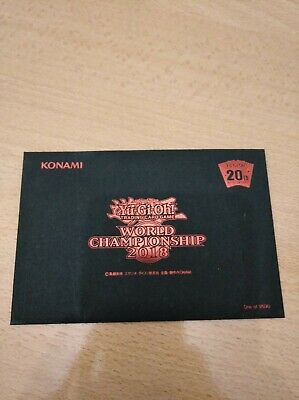 Yu-Gi-Oh! World Championship 2018 Blue eyes 2018-JPP01, Dark Magician 2018-JPP02