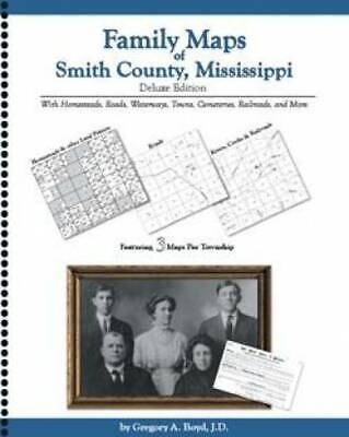 Family Maps of Smith County, Mississippi