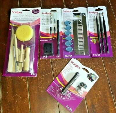 Sculpey Various Clay Tool Sets - Choose From *5* Various Items!