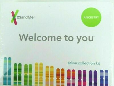 23andMe Personal Ancestry Genetic DNA Service No Health Kit w/ Lab Fee Included