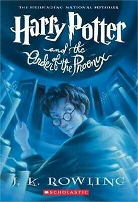 Harry Potter and the Order of the Phoenix (Hardback or Cased Book)