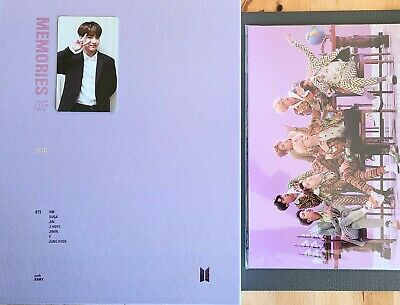 BTS MEMORIES OF 2018 DVD Complete Set With JIN Photocard + Tracking