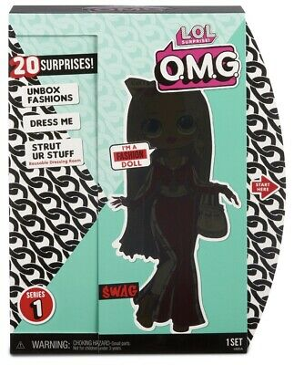 """In Hand LOL Surprise Series OMG MC SWAG 10"""" Fashion Doll Big Sister Clothing HTF"""