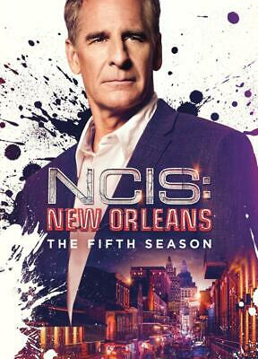 NCIS New Orleans - Season 5 DVD with SLIPCOVER 2019