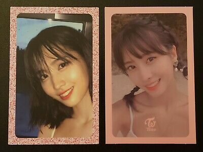 Twice Momo Summer Nights Official Photocard