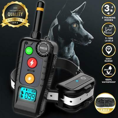 Shock Collar for Dogs,2019 Newest Dog with Remote,Dog Training...