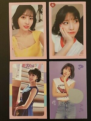 Twice Momo What Is Love Official Photocards