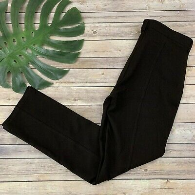 NYDJ Not Your Daughters Jeans Legging Skinny Ponte Knit Pant Plus Size 14W Brown