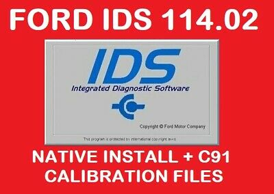 NEW✅ FORD IDS 114.02 + C91 Calibration files✅JULY 2019 VERSION✅ INSTANT DELIVERY