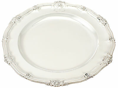 Sterling Silver Plate by Robert Garrard II - Antique Victorian