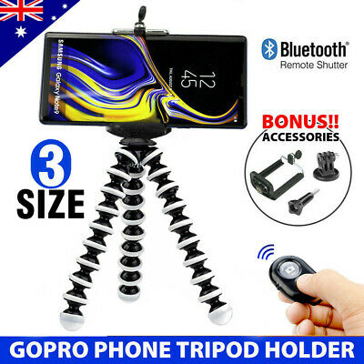 3 in 1 | Flexible Octopus Tripod Stand | Universal Phone Mount | iPhone Samsung